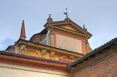 Igreja de st sisto. piacenza. emília-romanha. itália. — Fotografia Stock