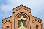 St. Maria Assunta church. Gropparello. Emilia-Romagna. Italy. — Stock Photo