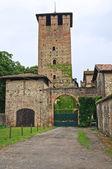 Castle of Vigolzone. Emilia-Romagna. Italy. — Stock Photo