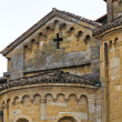 Collegiate Church of Castell'Arquato. Emilia-Romagna. Italy — Stock Photo