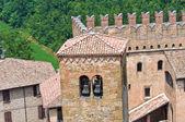View of Castell'Arquato. Emilia-Romagna. Italy. — Stock Photo