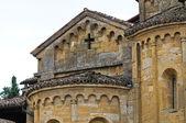 Collegiate Church of Castell'Arquato. Emilia-Romagna. Italy — Stock Photo