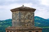 Slottet av vigoleno. emilia-romagna. italien. — Stockfoto