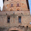 Stock Photo: Ducal palace. Castell'Arquato. Emilia-Romagna. Italy.