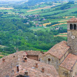 Panoramic view of Vigoleno. Emilia-Romagna. Italy. — Photo #19743573