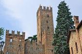 Castle of Castell'Arquato. Emilia-Romagna. Italy. — Stock Photo