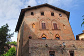 Ducal palace. Castell'Arquato. Emilia-Romagna. Italy. — Stock Photo