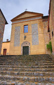 Church of St. Silvestro. Salsomaggiore. Emilia-Romagna. Italy. — Stock Photo