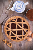 Linzer torte. — Stock Photo