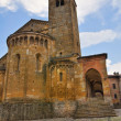 Collegiate Church of Castell'Arquato. Emilia-Romagna. Italy. — Stock Photo