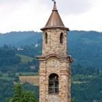 Church of St. Lorenzo. Bobbio. Emilia-Romagna. Italy. — Stock Photo
