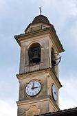 Church of St. Antonino. Travo. Emilia-Romagna. Italy. — Stock Photo