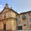 Church of St. Lorenzo. Bobbio. Emilia-Romagna. Italy. — Stock Photo