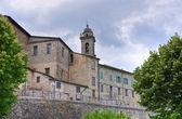 Vista panorâmica de bobbio. emília-romanha. itália. — Foto Stock