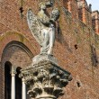 Stock Photo: Institution palace. Grazzano Visconti. Emilia-Romagna. Italy.