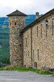 Castello di golaso. varsi. emilia-romagna. italia. — Foto Stock