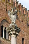Institution palace. Grazzano Visconti. Emilia-Romagna. Italy. — Stock Photo
