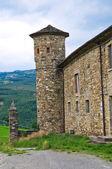 Golaso 的城堡。varsi。艾米利亚-罗马涅。意大利. — 图库照片