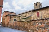 Församlingkyrkan av fornovo di taro. emilia-romagna. italien. — Stockfoto
