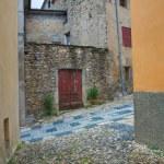 Alleyway. Compiano. Emilia-Romagna. Italy. — Stock Photo #21022569
