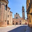 Stock Photo: Alleyway. Parma. Emilia-Romagna. Italy.