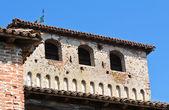 Hrad roccabianca. Emilia-Romagna. Itálie. — Stock fotografie
