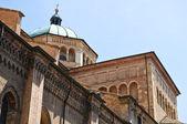 パルマ大聖堂エミリア = ロマーニャ州。イタリア. — ストック写真