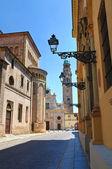 Alleyway. Parma. Emilia-Romagna. Italy. — Stock Photo