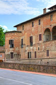 Castelo de fontanellato. emília-romanha. itália. — Foto Stock