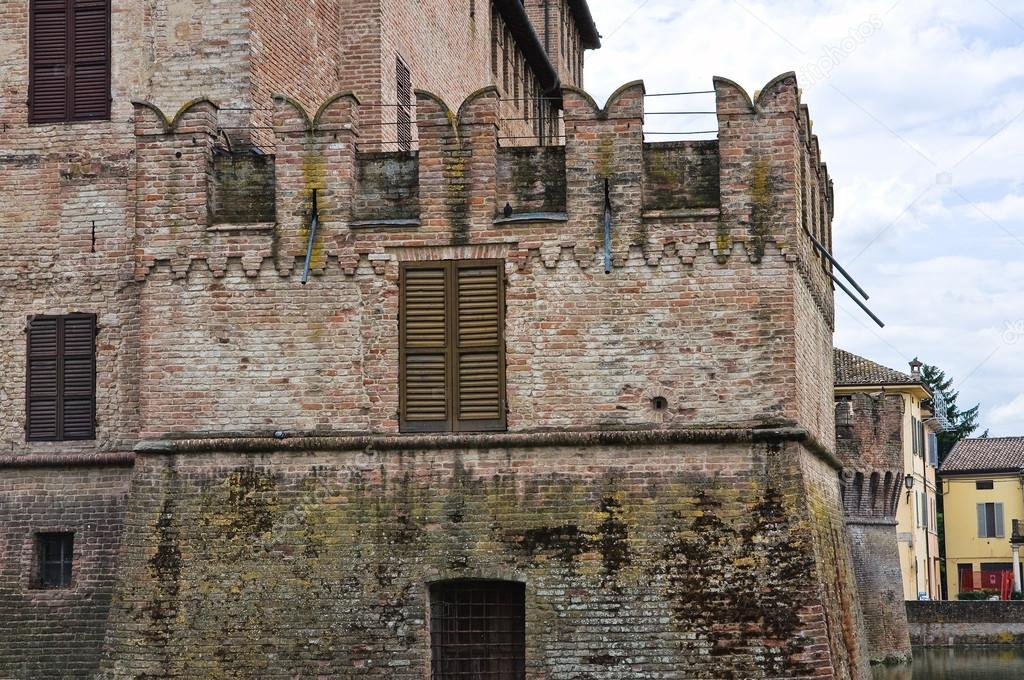 Castle of Fontanellato. Emilia-Romagna. Italy.  — Stock Photo #21201915
