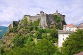 Castle of Bardi. Emilia-Romagna. Italy. — Stok fotoğraf