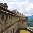 Castle of Bardi. Emilia-Romagna. Italy. — Stock Photo