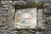 コンピアーノの城。エミリア = ロマーニャ州。イタリア. — ストック写真
