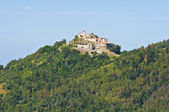Castle of Scorticata. Torriana. Emilia-Romagna. Italy. — Stock Photo