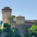 Venetian Fortress. Brisighella. Emilia-Romagna. Italy. — Stock Photo #21520461