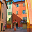 Stock Photo: Alleyway. Brisighella. Emilia-Romagna. Italy.