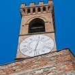 Royalty-Free Stock Photo: Clocktower. Brisighella. Emilia-Romagna. Italy.