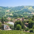 Panoramic view of Brisighella. Emilia-Romagna. Italy. — Stock Photo