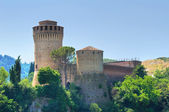 Venetian Fortress. Brisighella. Emilia-Romagna. Italy. — Stock Photo