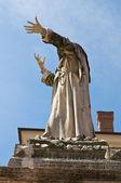 Girolamo statue de savonarole. ferrara. émilie-romagne. italie. — Photo