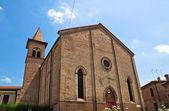 Iglesia de santa maria nuova. ferrara. emilia-romaña. italia. — Foto de Stock