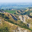 Badlands. Emilia-Romagna. Italy. — Stock Photo