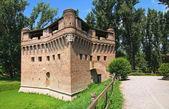 Rocca di Stellata. Bondeno. Emilia-Romagna. Italy. — Stock Photo