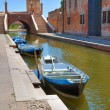 Panoramic view of Comacchio. Emilia-Romagna. Italy. — Stock Photo #21601193