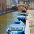 Panoramic view of Comacchio. Emilia-Romagna. Italy. — Stock Photo #21601331