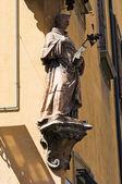 Marble statue. Bologna. Emilia-Romagna. Italy. — Stock Photo