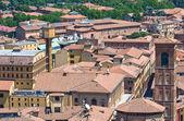 Panoramic view of Bologna. Emilia-Romagna. Italy. — Fotografia Stock