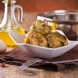 Stuffed artichokes. - Stock Photo