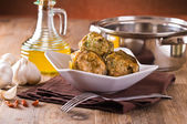 Stuffed artichokes. — Stock Photo