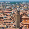 Panoramic view of Bologna. Emilia-Romagna. Italy. - Foto de Stock